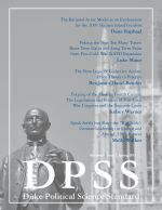 Cover of the Duke Political Science Standard magazine