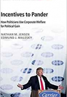 Incentives to Pander: How Politicians Use Corporate Welfare for Political Gain